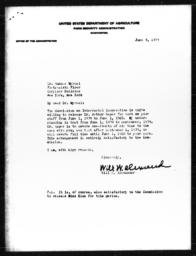 Letter from Will W. Alexander to Gunnar Myrdal, June 8, 1939