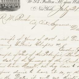 Henry Seibert & Bros. letter