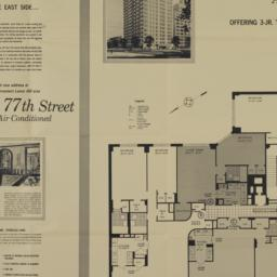 201 E. 77 Street, Plan Of 1...