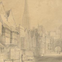 Street Scene in Salisbury