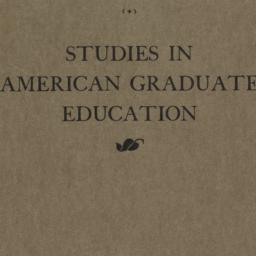Studies in American Graduat...