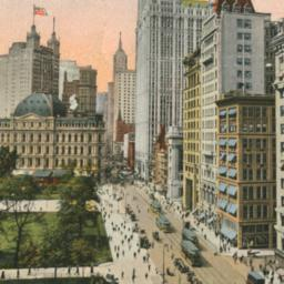 Broadway, Showing Woolworth...