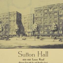 Sutton Hall, 424-446 Lenox ...