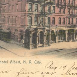 Hotel Albert, N.Y. City