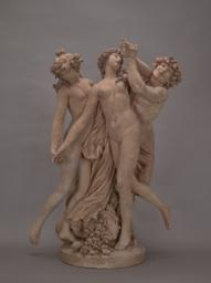 Satyr and Two Nymphs, Front