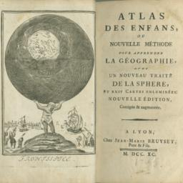 Atlas des Enfans, ou, Nouve...