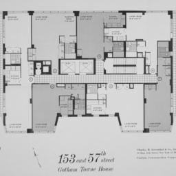 153 E. 57 Street, Plan Of 1...