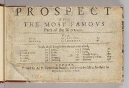 Title page, Prospect