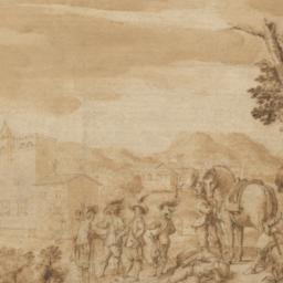 Landscape with Cavaliers be...