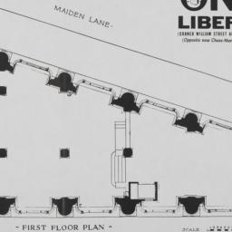 1 Liberty Street, First Flo...