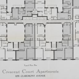 Crescent Court Apartments, ...