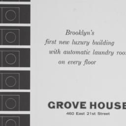 Grove House, 460 E. 21 Street