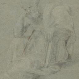 Seated Apostle