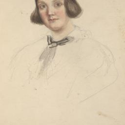 Drawing of a Young Woman's ...