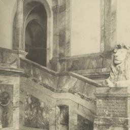 Detail of staircase hall: P...