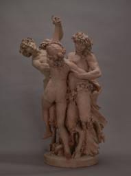 Two Satyrs and One Nymph, Left 3/4