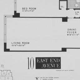 "10 East End Avenue, ""k"" 2nd..."