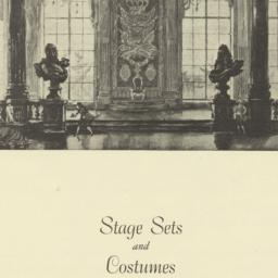 Stage Sets and Costumes by ...