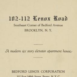 102-112 Lenox Road