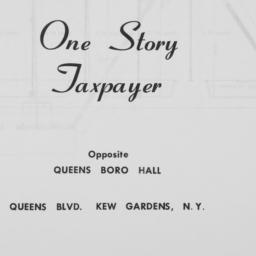 Taxpayer, Queens Boulevard,...