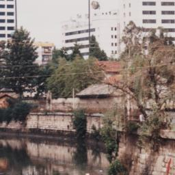 Kunming 1996 River Bank