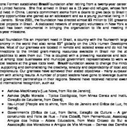 Handouts, 2006-03-23. Brazi...