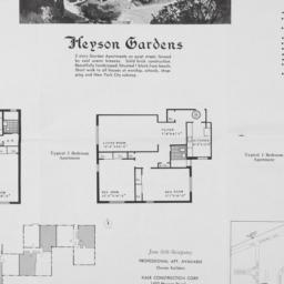 Heyson Gardens, Heyson Road...