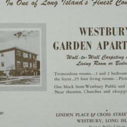 Westbury Garden Apartments,...