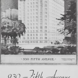 930 Fifth Avenue: 2nd To 9t...
