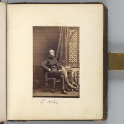 Lord Airlie, Seated