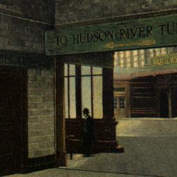 Hudson Tunnels Entrance at ...
