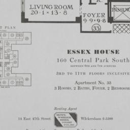 Essex House, 160 Central Pa...