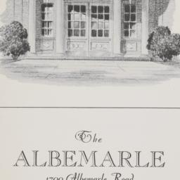 The     Albemarle, 1700 Alb...