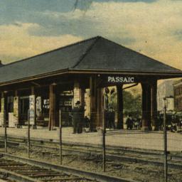 Erie R. R. Station, Passaic...