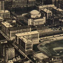 Aerial View of Columbia Uni...