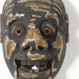 Bugaku Mask Of A Demon
