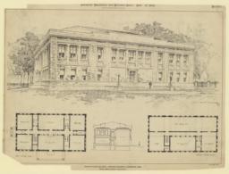 Architectural Building, Harvard University, Cambridge, Mass. McKim, Mead & White, Architects