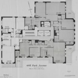 605 Park Avenue, Plan Of 19...