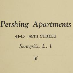 Pershing Apartments, 41-15 ...