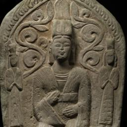 Stele with Daoist Figures