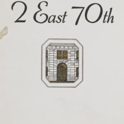 2 East 70th Street
