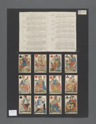Nouvelles cartes a jouer de la republique francaise [playing cards]