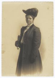 Young Frances Perkins photograph