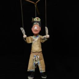Chinese Jigging Puppet Of M...