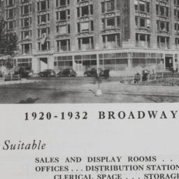 1920-1932 Broadway, For Ren...