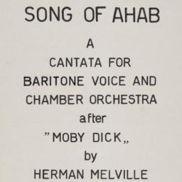 Song of Ahab