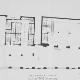 29 Broadway, Plan Of 4th To...