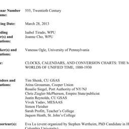 Minutes, 2013-03-28. Twenti...