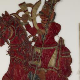 Indian Shadow Puppet on Hor...