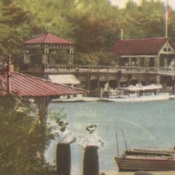 Boat House in Central Park,...